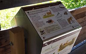 Matériel didactique Réserve Naturelle des Douves à Versoix