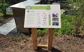 Tables de lecture Maison de la Rivière à Tolochenaz