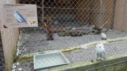 Signalétique et panneaux du zoo Siky Ranch