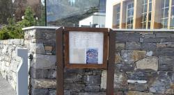 Rougemont restaurant panneau d'affichage
